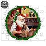 Santa's Welsh T Puzzle