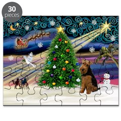 XmasMagic/Welsh Terrier Puzzle