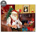 Santa's Westie Puzzle