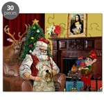 Santa's Wheaten (#7) Puzzle