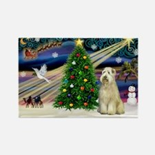 XmasMagic/Wheaten (#10) Rectangle Magnet