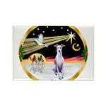 Wisemen/Whippet #8 Rectangle Magnet (10 pack)