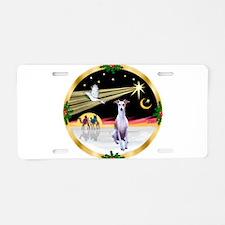 Wisemen/Whippet #8 Aluminum License Plate