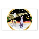 Wisemen/Whippet #8 Sticker (Rectangle)
