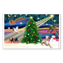 Xmas Magic & Whippet Decal