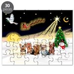 Night Flight/5 Yorkies Puzzle