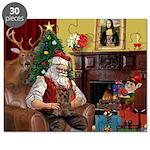 Santa's Yorkie (#11) Puzzle