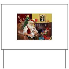 Santa's Yorkie (#13) Yard Sign