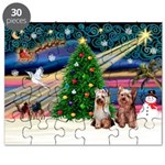 XmasMagic/2 Yorkies Puzzle