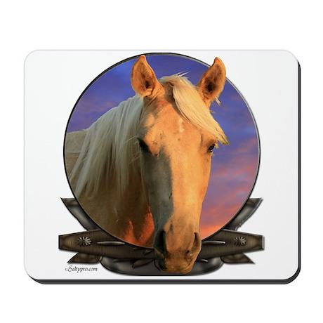 Palomino horse Mousepad