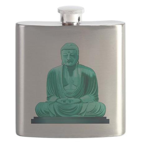 Buddha Jade Flask