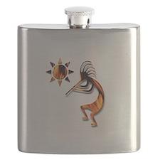 One Kokopelli #1 Flask
