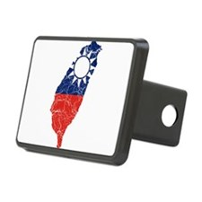 Taiwan Flag And Map Hitch Cover