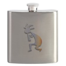 One Kokopelli #45 Flask