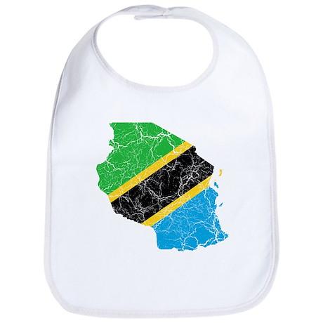 Tanzania Flag And Map Bib