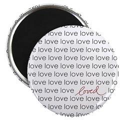 LOVED Magnet