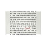 LOVED Rectangle Magnet (100 pack)