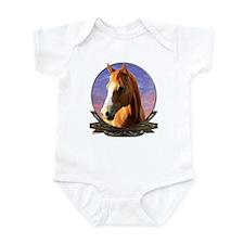 Horse sunset Infant Bodysuit