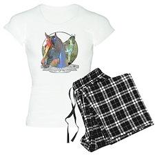 Horses,Pastels Pajamas