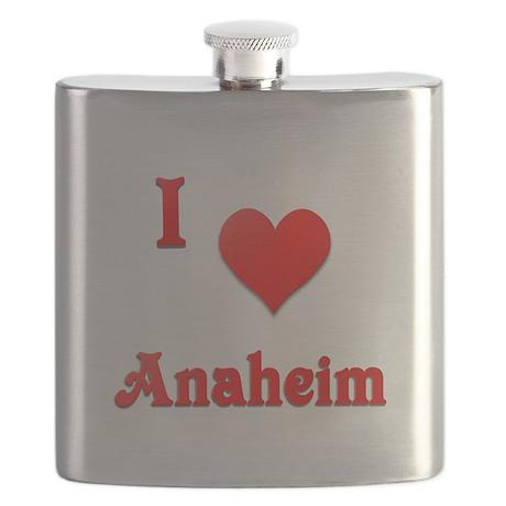 I Love Anaheim #21 Flask