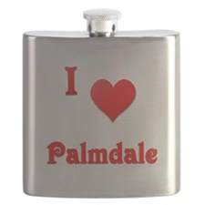 I Love Palmdale #21 Flask