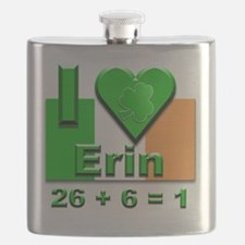 I Love Ireland 26+6=1 #2 Flask