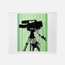 Camera! Throw Blanket