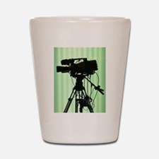 Camera! Shot Glass
