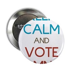"Keep Calm and Vote Romney 2.25"" Button"