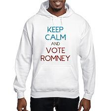 Keep Calm and Vote Romney Hoodie