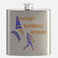 Fantasy Baseball Wizard #3 Flask