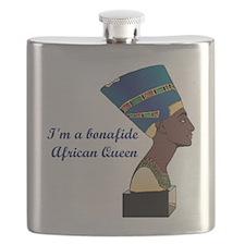 African Queen Flask