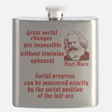 Karl Marx on Women Flask