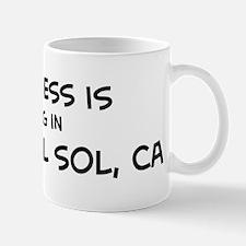 Tierra del Sol - Happiness Small Small Mug