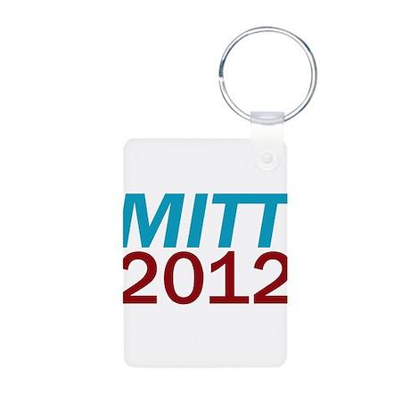 Mitt 2012 Aluminum Photo Keychain