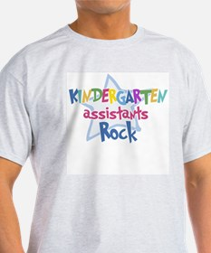 Kindergaten Assisstants Rock T-Shirt