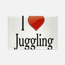 I Love Juggling Rectangle Magnet