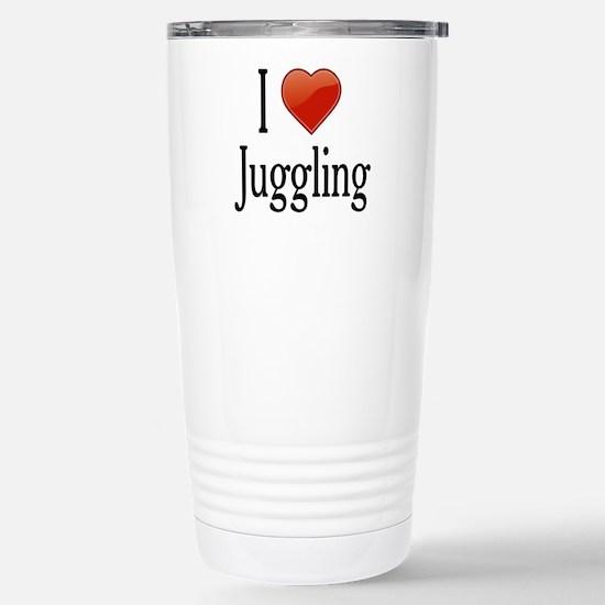 I Love Juggling Stainless Steel Travel Mug