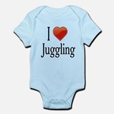 I Love Juggling Infant Bodysuit