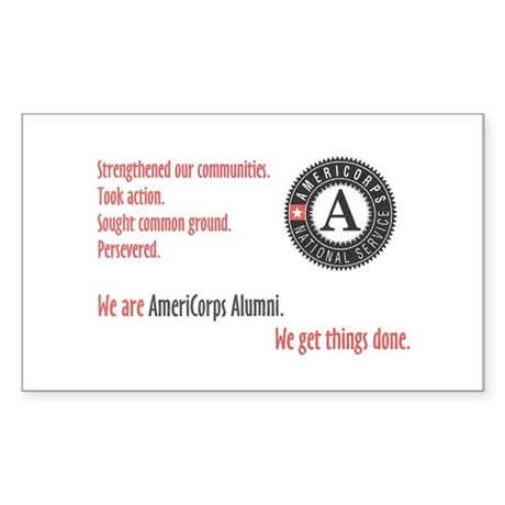 Alumni Rectangle Sticker