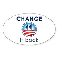 Change It Back Decal