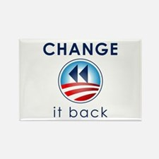 Change It Back Rectangle Magnet