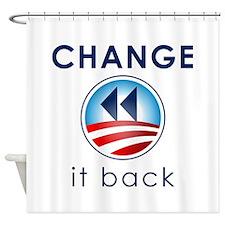 Change It Back Shower Curtain