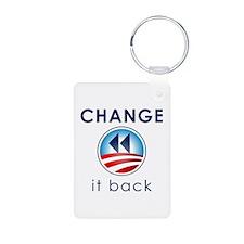 Change It Back Keychains