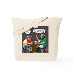 Origin of Bagpipes Tote Bag