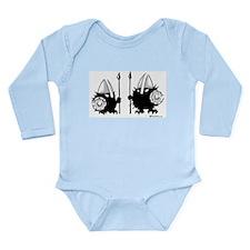 Viking Hedgehogs! Long Sleeve Infant Bodysuit