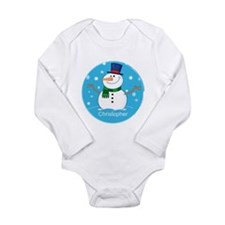 Cute Personalized Snowman Xmas gift Long Sleeve In