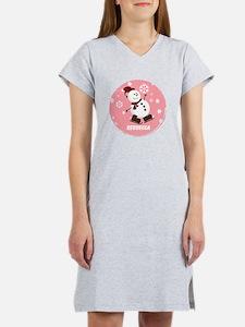 Cute Personalized Snowman Xmas gift Women's Nights