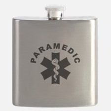 Paramedic Star Of Life Flask