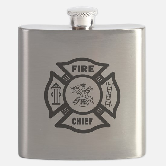Fire Chief Flask